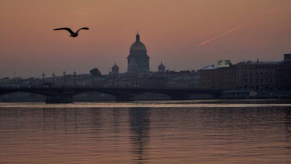St.Petersburg'da Blagoveşenskiy köprüsü - Sputnik Türkiye