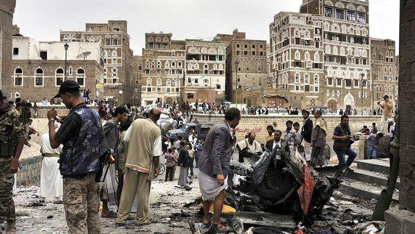 Yemen'de bombalı saldırı - Sputnik Türkiye
