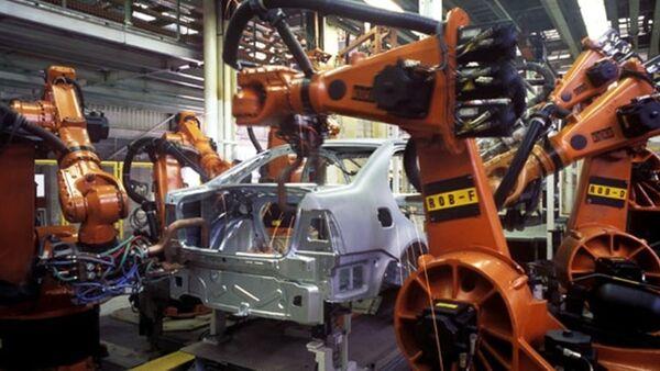Volkswagen fabrikası - Sputnik Türkiye