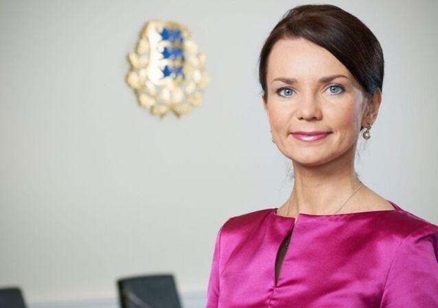 Estonya Dışişleri Bakanı Keit Pentus-Rosimannus