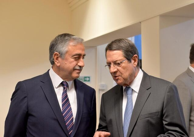 Mustafa Akıncı & Nikos Anastasiadis