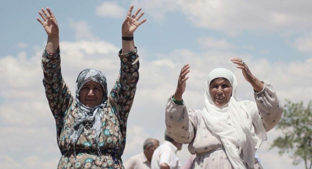 Çatışmalardan kaçan Suriyeliler