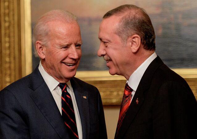 Recep Tayyip Erdoğan ve Joe Biden