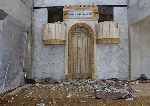 Suriye cami intihar saldırısı
