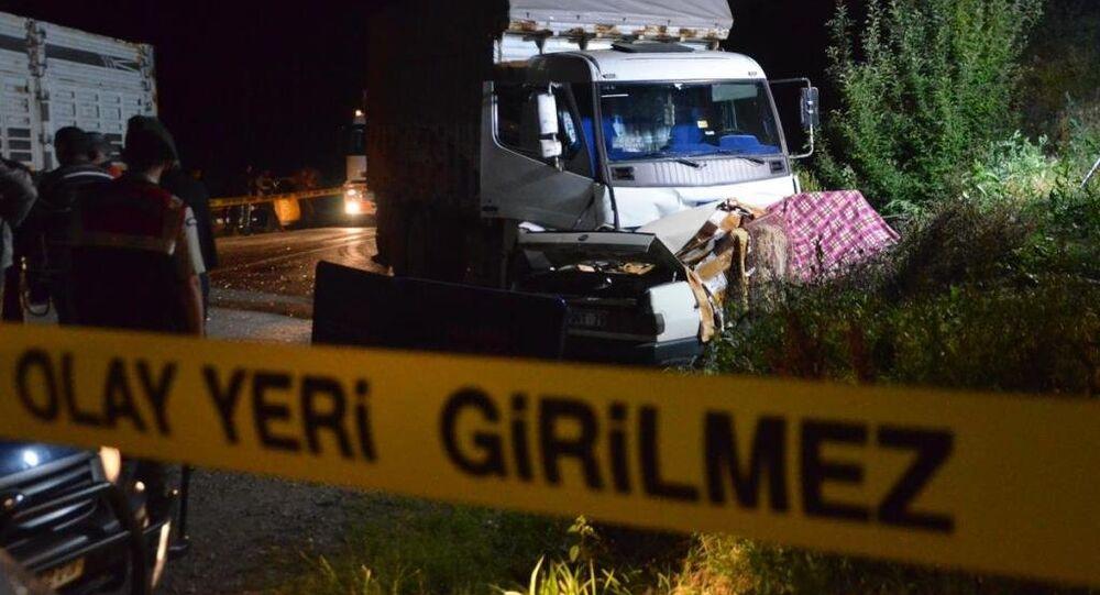 Kastamonu, trafik kazası