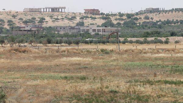 Türkiye, Suriye, Cerablus sınır hattı - Sputnik Türkiye