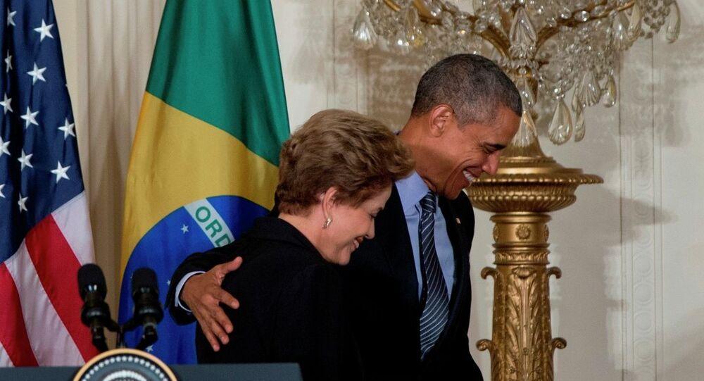 Dilma Rousseff-Barack Obama