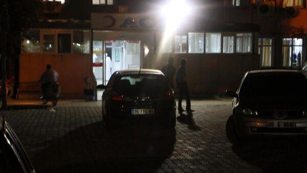 Hastane acil kapısı - Sputnik Türkiye