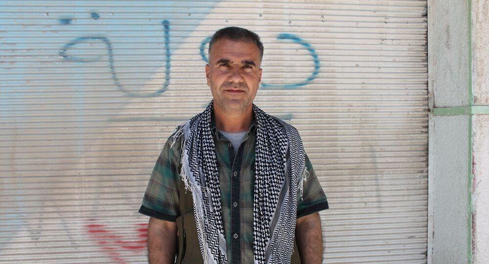 Kobani Kantonu Başbakan Yardımcısı Halit Berkel