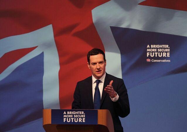 İngiltere Maliye Bakanı George Osborne