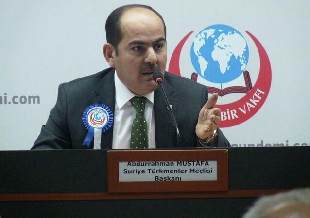 Suriye Türkmen Meclisi Başkanı Abdurrahman Mustafa