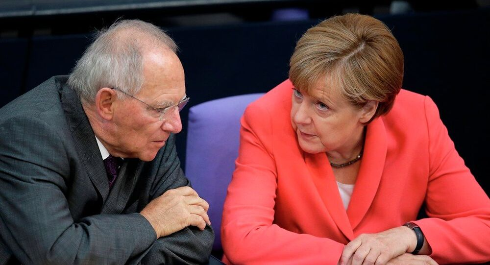Wolfgang Schaeuble - Angela Merkel