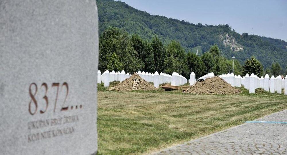 Srebrenitsa - Potoçari Anıt Mezarlığı
