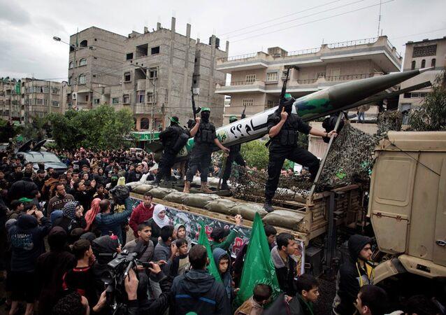 Gazze'deki Hamas'ın silahlı kanadı İzzeddin Kassam Tugayları