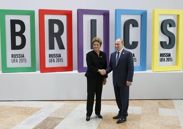 Putin - Rousseff