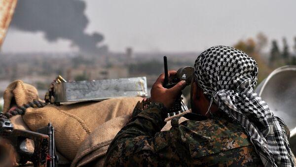 YPG güçleri - Sputnik Türkiye