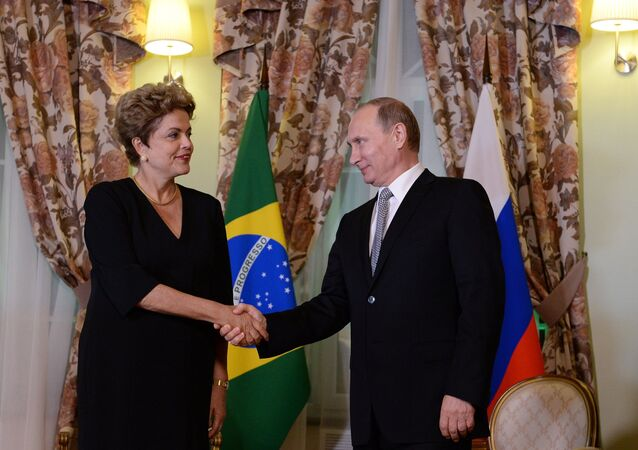 Brezilya Devlet Başkanı Dilma Rousseff- Rusya Devlet Başkanı Vladimir Putin