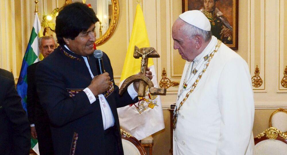 Evo Morales - Papa Francis