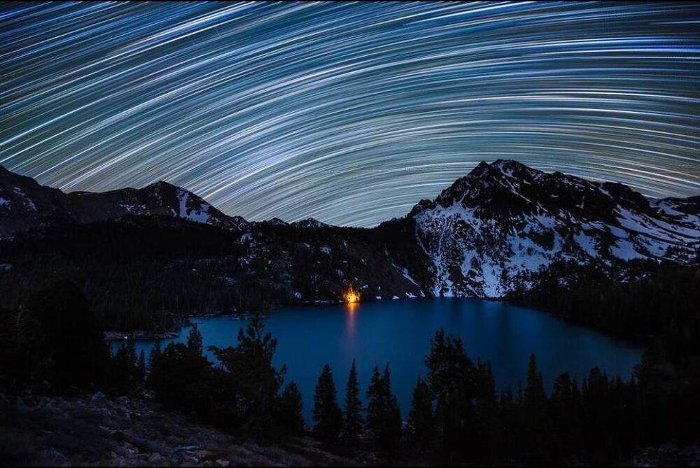 Yeryüzü ile gökyüzü fotoğraflarda buluştu