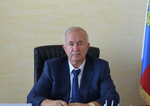 Kırım Tatar Toplum Konseyi Başkanı ve Kırım Birliği Başkanı Seyitömer Nimetullayev