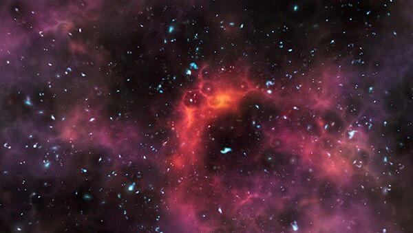 kara delik, uzay, yıldız - Sputnik Türkiye