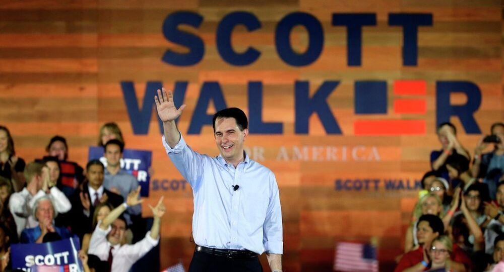 Wisconsin Valisi Scott Walker