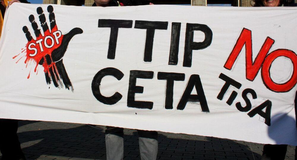 TTIP karşıtı gösteriler