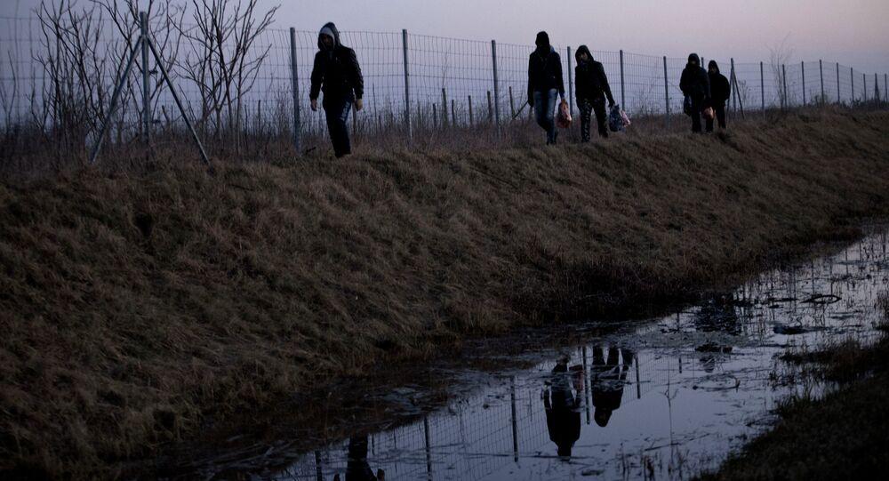 Macaristan-Hırvatistan sınırı