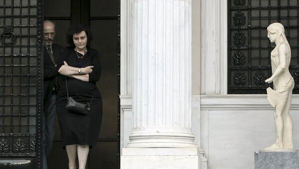 Nadia Valavani - Sputnik Türkiye