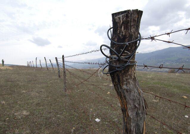 Gürcistan-Güney Osetya sınırı