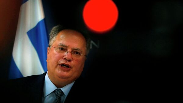 Yunanistan Dışişleri Bakanı Nikos Kotzias - Sputnik Türkiye