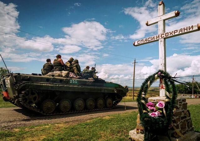 Malezya uçağı bir yıl önce Donesk'te düştü