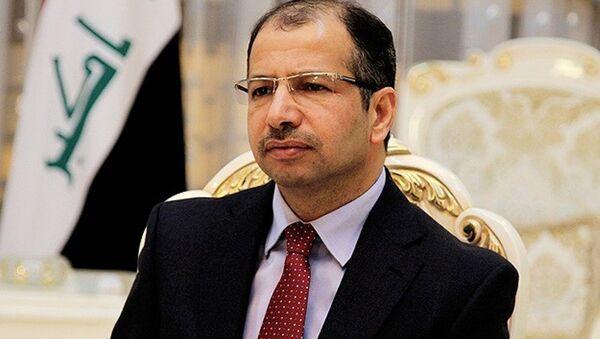 Irak Meclisi Başkanı Selim el-Cuburi, - Sputnik Türkiye