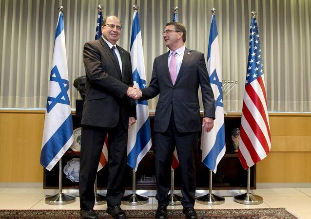 İsrail Savunma Bakanı Moşe Yalon- ABD Savunma Bakanı Ashton Carter