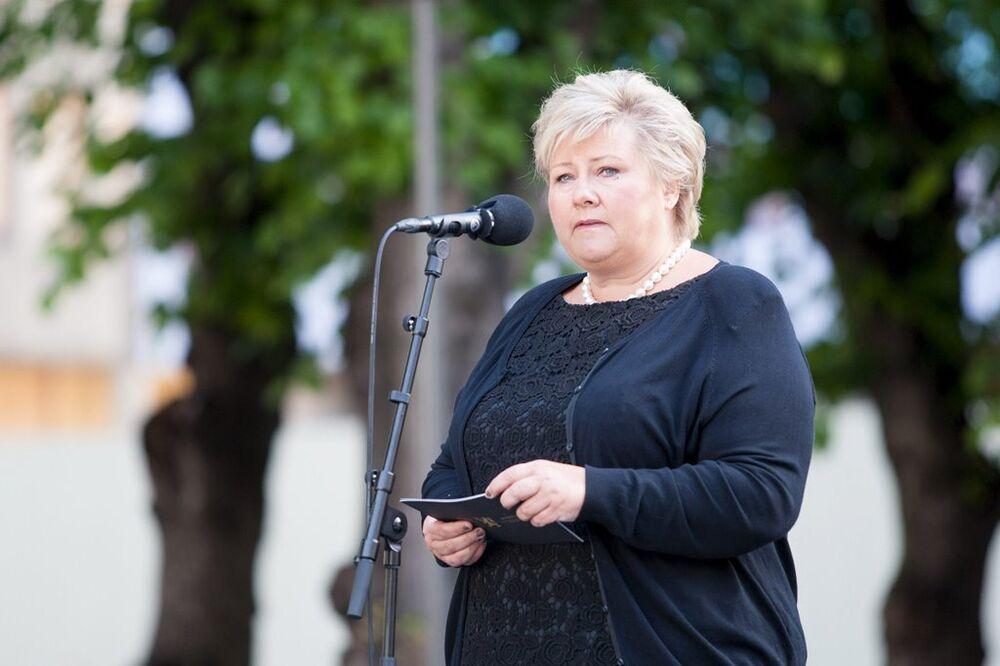 Norveç'in Merkel'i olarak adlandırılan Başbakan Erna Solberg de 52. sırada kendine listede yer buldu.