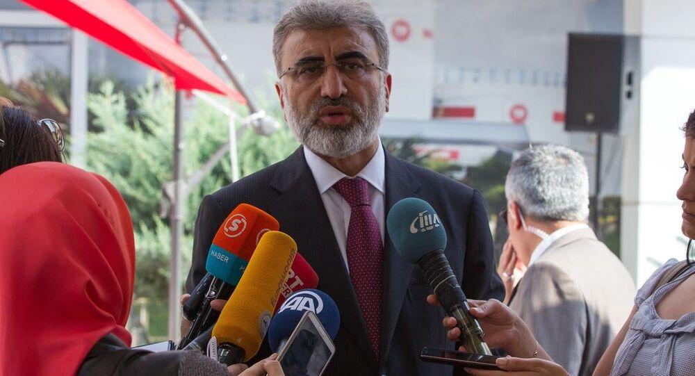 Enerji ve Tabii Kaynaklar Bakanı Taner Yıldız
