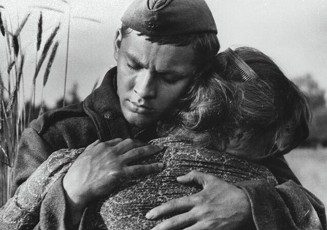 'Askerin Türküsü' isimli filmden bir kare