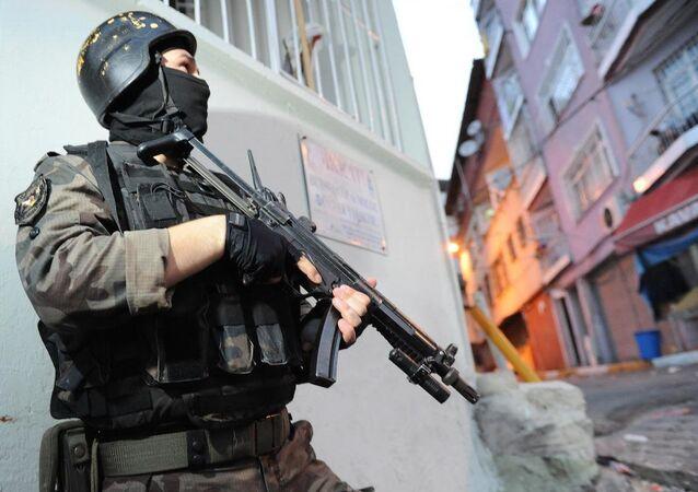 Beyoğlu'nda terör operasyonu