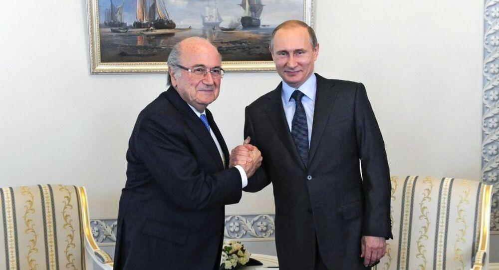 Vladimir Putin - Sepp Blatter