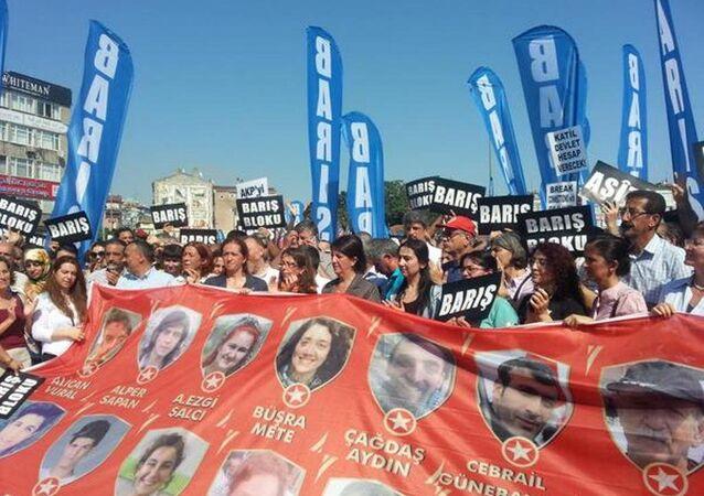 Barış Bloku basın açıklaması düzenledi