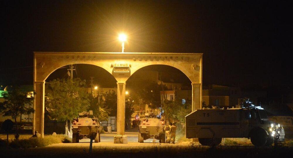 Mardin'de polise saldırı