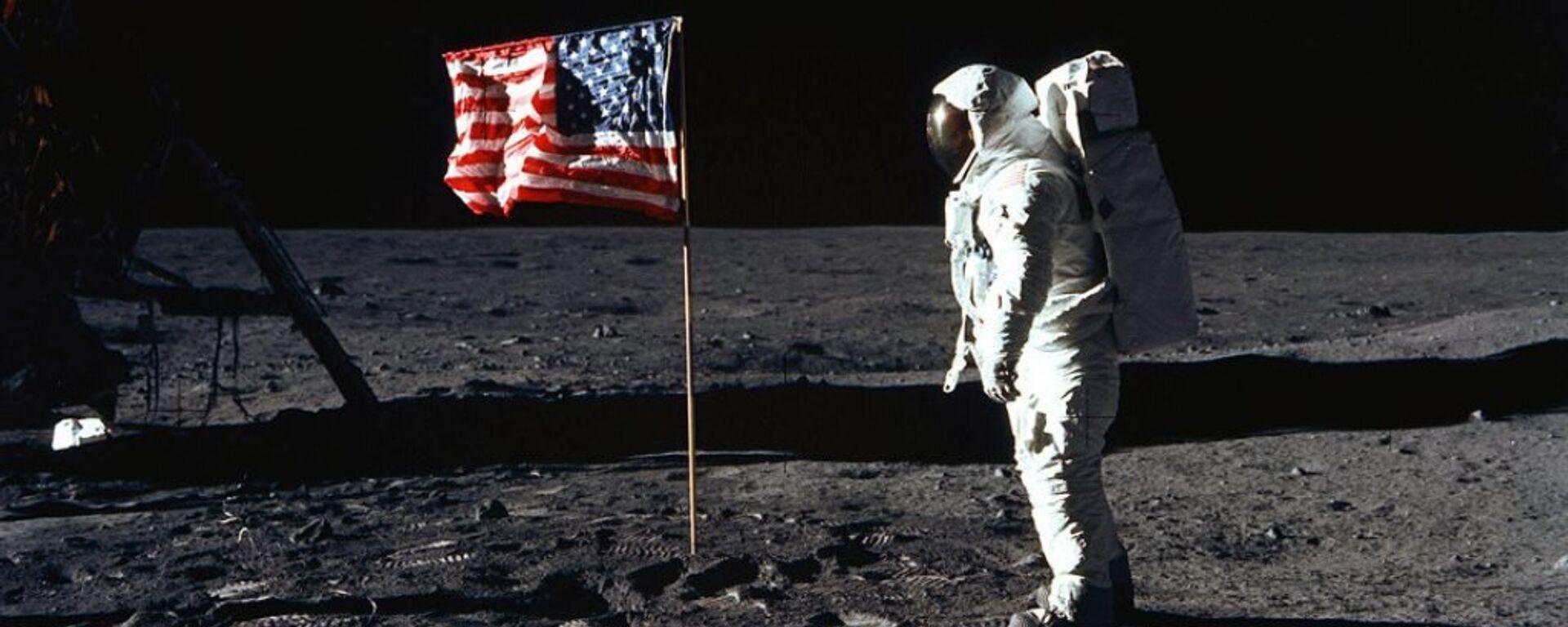 46 yıl önce Ay'da böyle yürüdüler - Sputnik Türkiye, 1920, 10.08.2021
