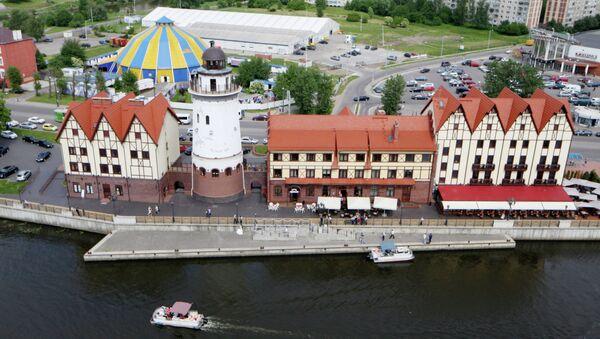 Kaliningrad'ın yeni semti - 'Balık köyü' - Sputnik Türkiye