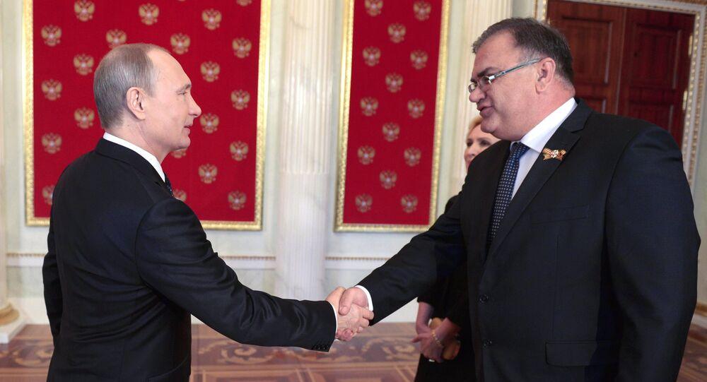 Vladimir Putin - Mladen Ivanic