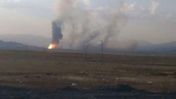 Ağrı'nın Doğubayazıt ilçesinden geçen İran'dan Türkiye'ye doğalgaz akımını sağlayan boru hattında patlama meydana geldi. - Sputnik Türkiye