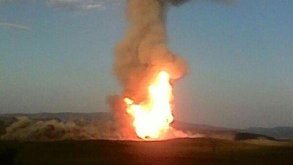 Türkiye-İran doğalgaz boru hattı patlatıldı - Sputnik Türkiye