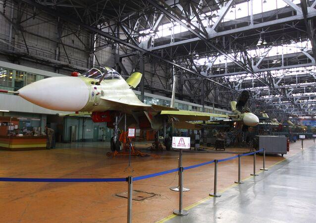 Su-30CM askeri jet