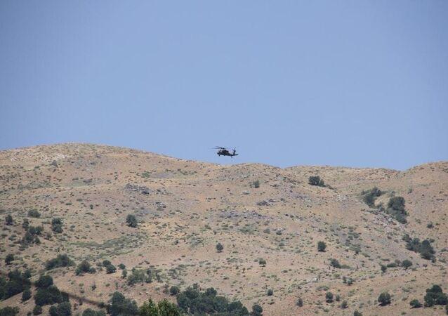 Şemdinli'de Piyade Uzman Çavuş Sarpkaya'nın şehit edildiği saldırı sonrası sikorsky ve kobra helikopterlerin de destek verdiği operasyon başlatıldı.