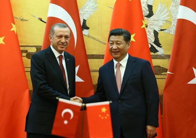 Recep Tayyip Erdoğan & Şi Cinping