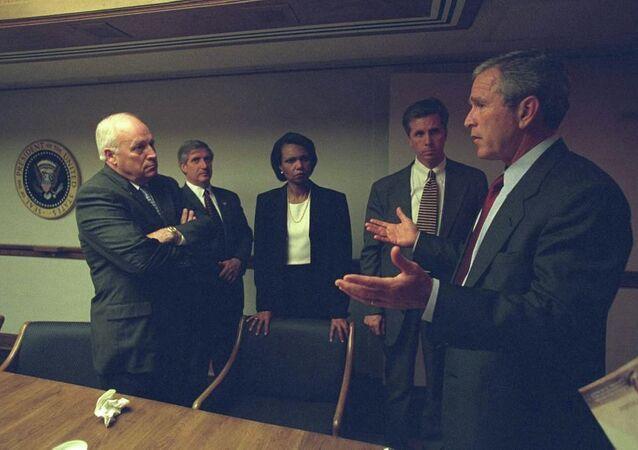 Beyaz Saray'dan 11 Eylül görüntüleri